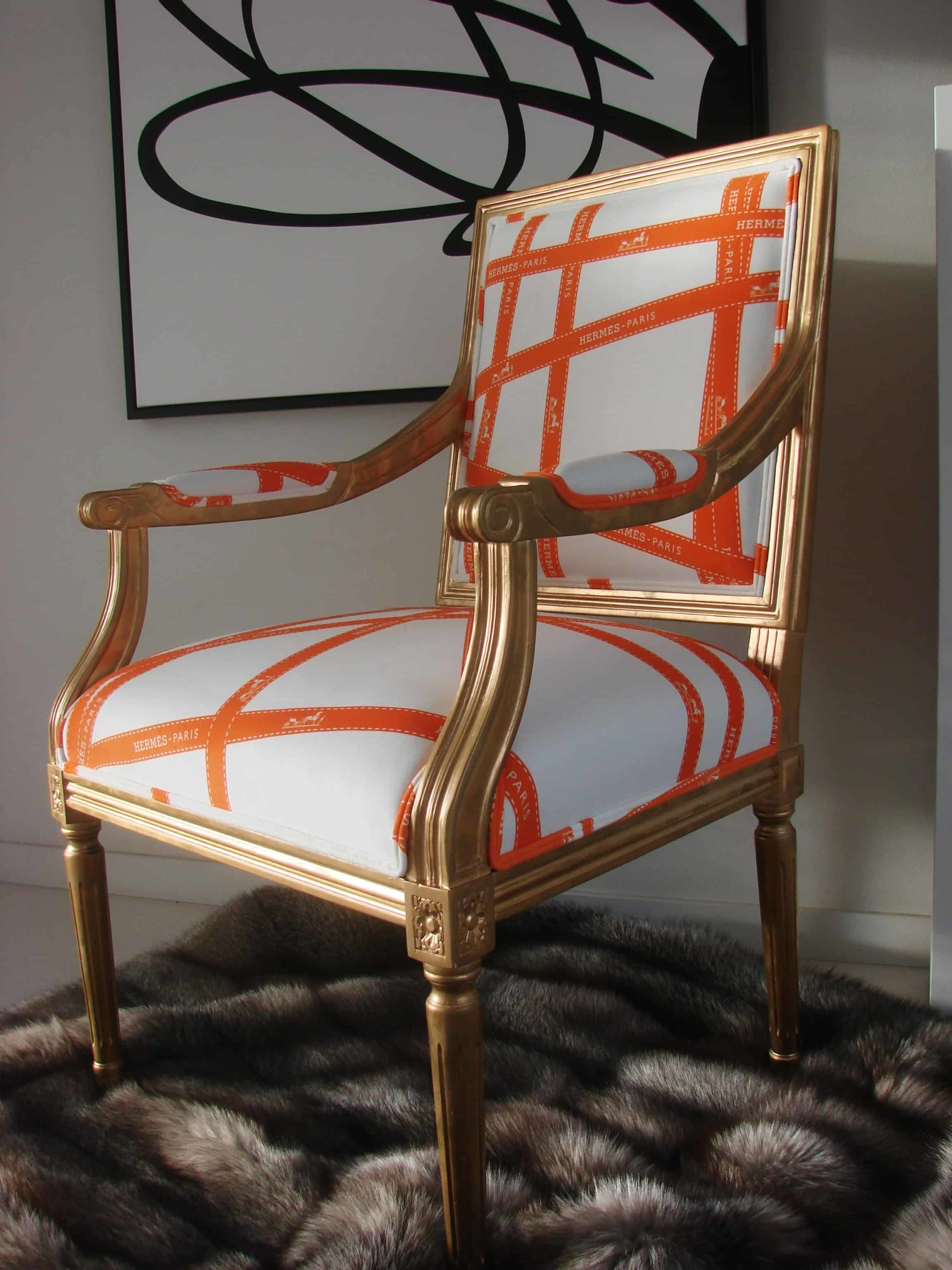 Hermes Louis chair